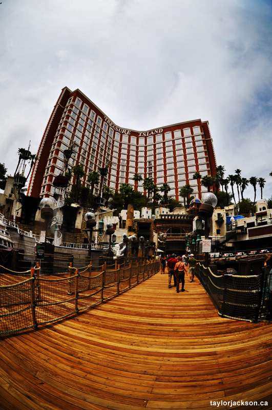 Treasure Island - Las Vegas Strip Photography